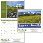 America the Beautiful 16 Month Deluxe Calendar