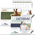 The Saturday Evening Post Large Desk Calendar
