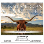 North American Wildlife Spiral 13 Month Calendar