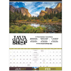 Executive American Splendor Wall Calendar