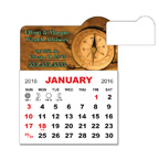 3 X 3.875 Adhesive or Magnet Calendar Pad - Arch