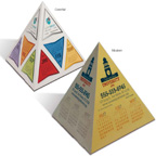 Fun Shapes Pyramid Calendar