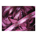 Satin Ribbon 3/8 Inch 100 yard