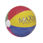 16 Inch Dark Multicolor Beach Ball