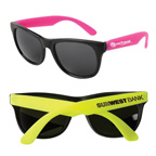 Neon Sunglasses - Black Frame