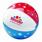 Patriotic 16 Inch Beach Ball