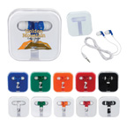 Ear Buds In Square Case