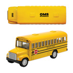 5 Inch Replica School Bus Toy