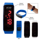 Rectangle Unisex Digital LED Watch
